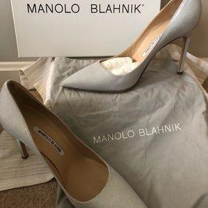 Manolo Blahnik sparkling heels